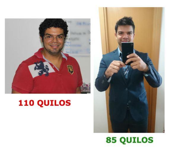 Paulo Lima, antes e depois. (Foto: Divulgação)