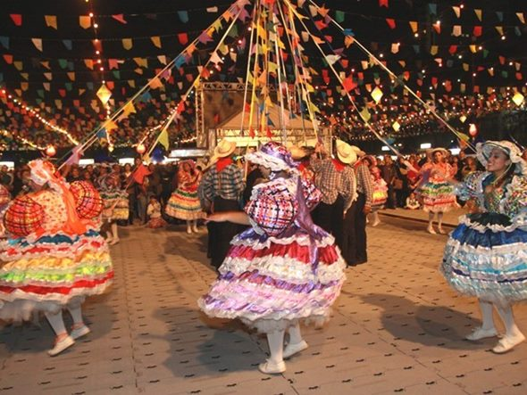 Vestido para festa junina adulto - Vestido para festa junina adulto (Foto: Divulgação)