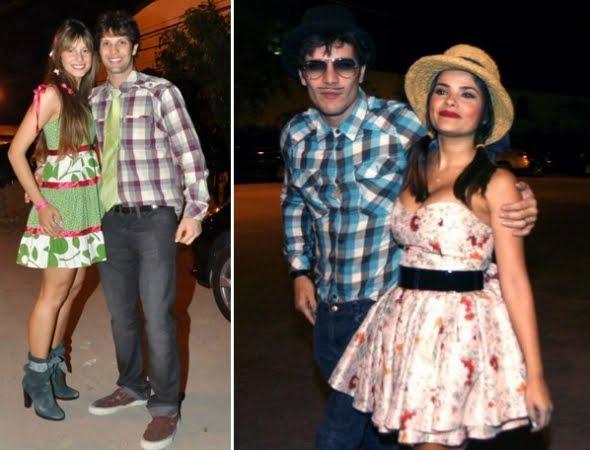 Você pode comprar vestidos de festa junina em lojas de fantasias de roupas (Foto: Divulgação)
