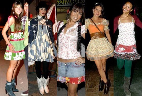 Existem diversos modelos de vestidos para festa junina adulto (Foto: Divulgação)