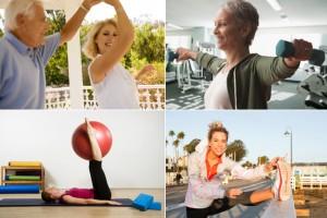 Melhores exercícios para cada idade (foto ilustração)